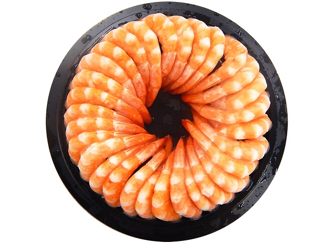 Vannamei Cooked PTO Cocktail Shrimp Ring